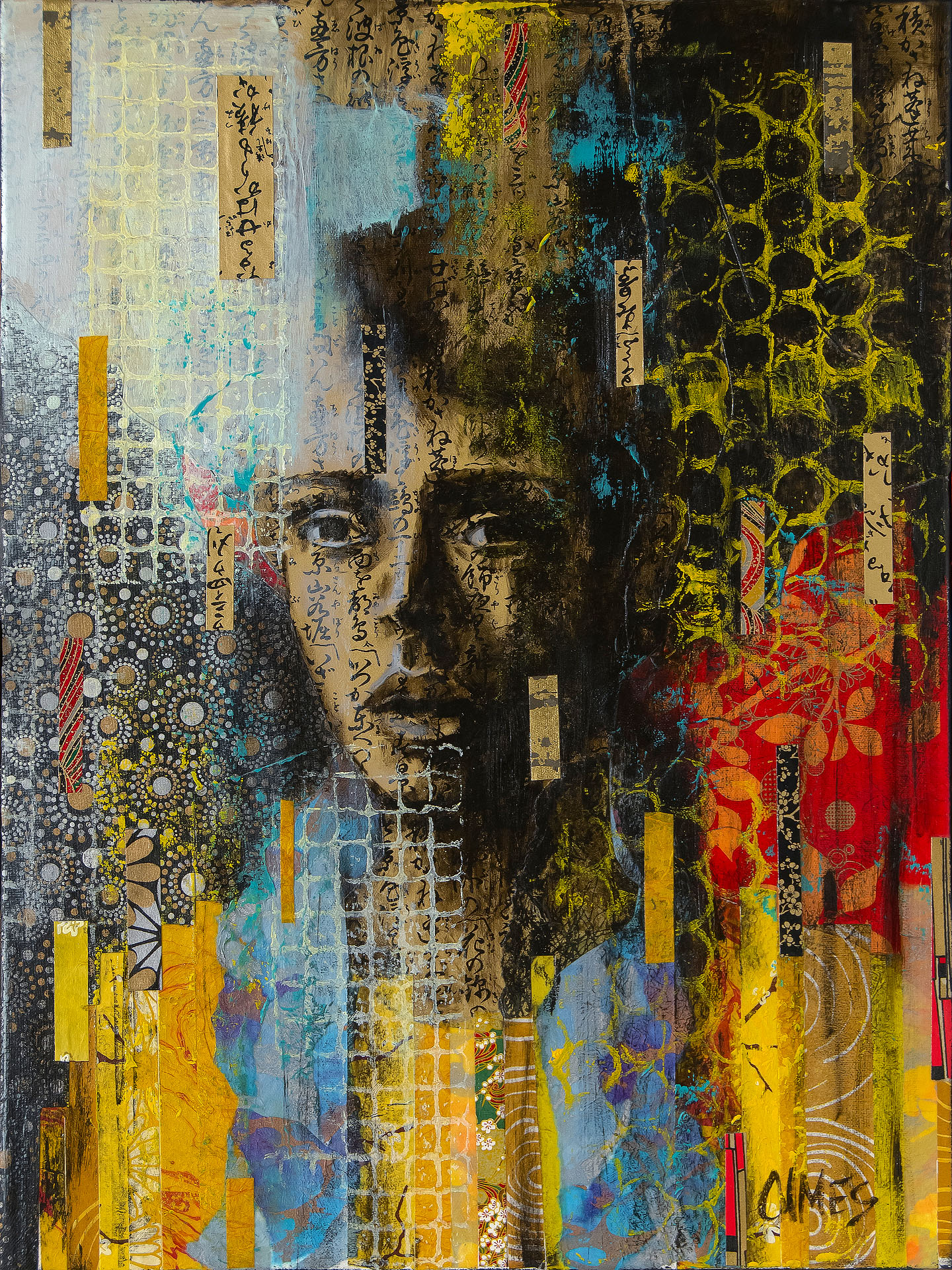 Cindy Olmes, # 20-48, Untitled, mixed media