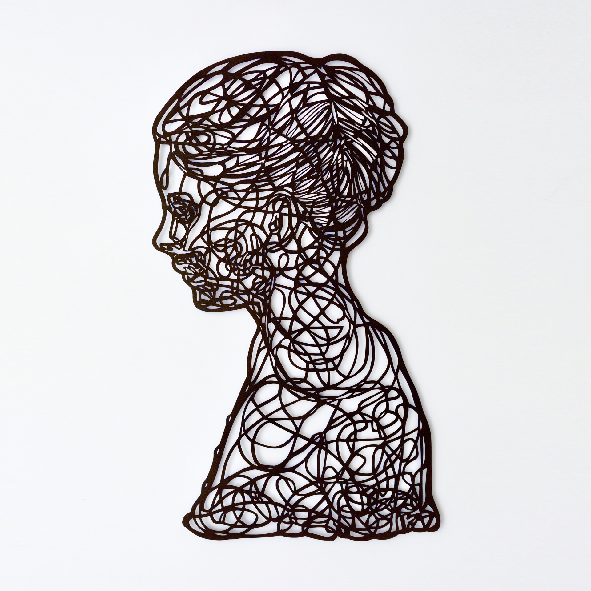 Divided Silhouette - Papercutting