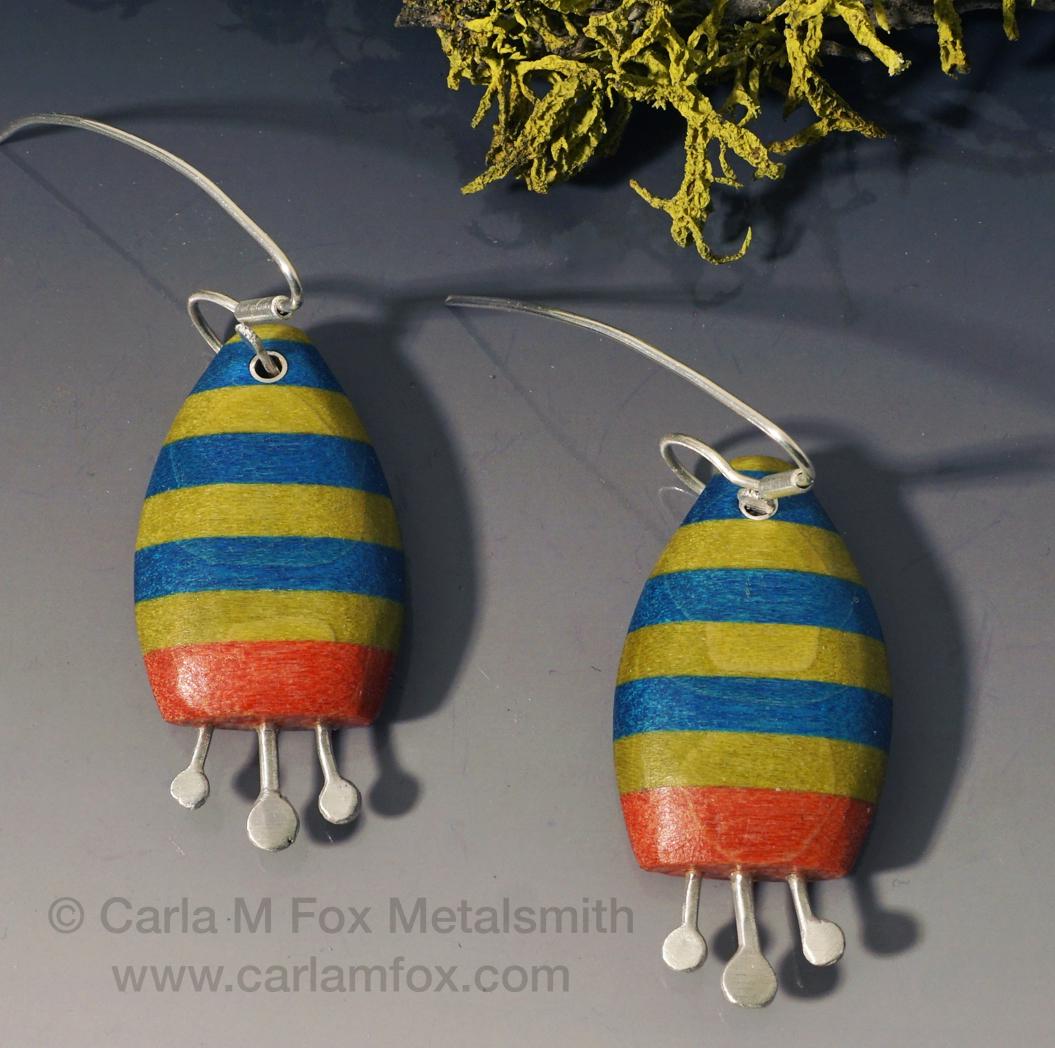 Rocket Ship Earrings