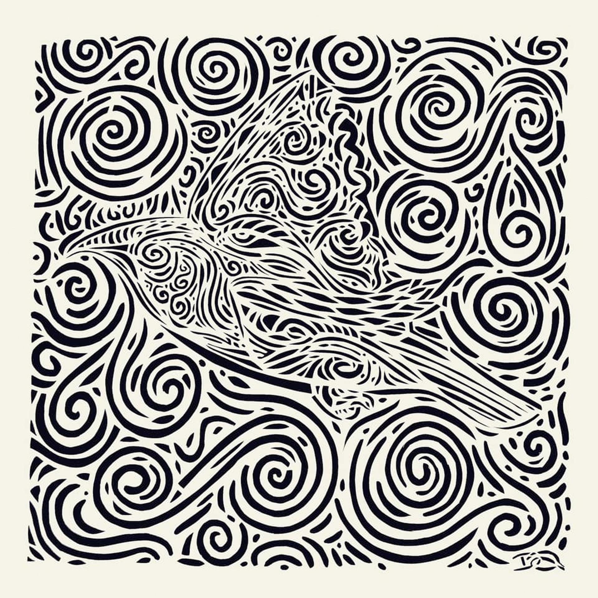Cedar Waxwing - Papercutting