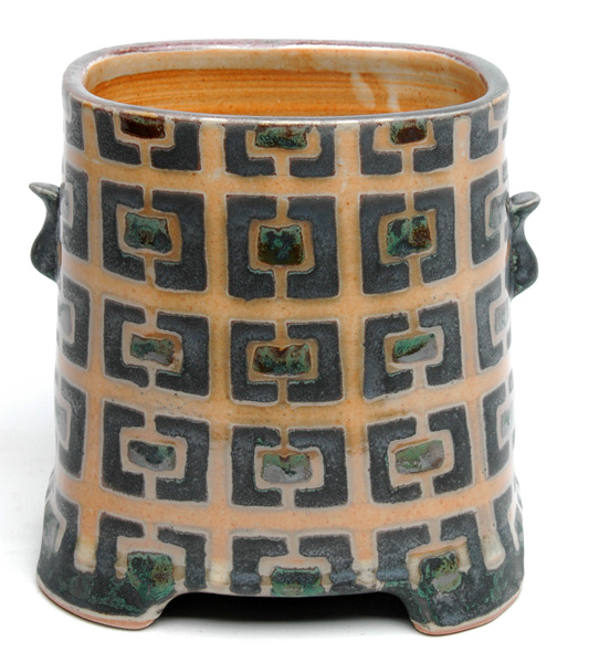 low rectangle vase
