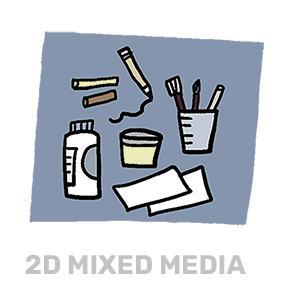 2D Mixed Media